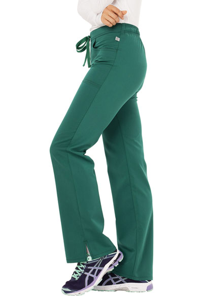 e0bcb8d7740 Photograph of Code Happy Cloud Nine Women's Mid Rise Moderate Flare Leg Pant  Green CH000AT-