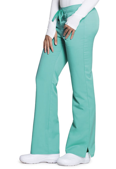 69fd0403e51 Photograph of Code Happy Cloud Nine Women's Mid Rise Moderate Flare Leg Pant  Green CH000A-