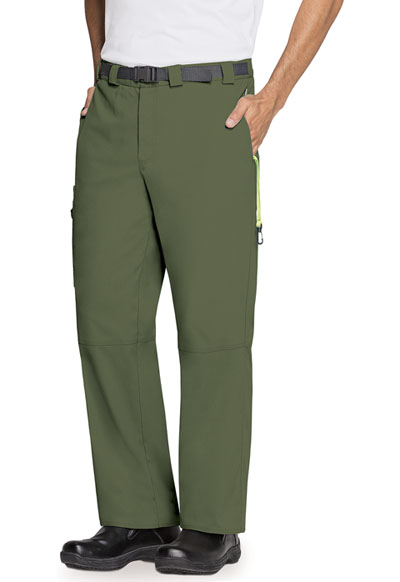 Bliss Men's Men's Zip Fly Front Pant Green
