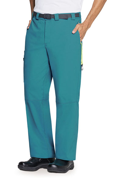 Code Happy Bliss Men's Men's Zip Fly Front Pant Green