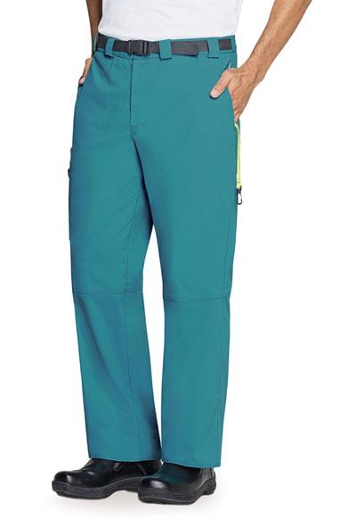 Code Happy Bliss Men's Men's Zip Fly Front Pant Green