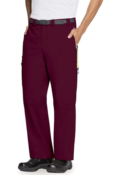 Bliss Men's Men's Zip Fly Front Pant Purple