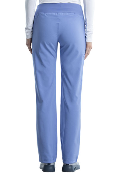 3e42fe19907 Photograph of iFlex Women's Mid Rise Straight Leg Pull-on Pant Blue  CK002P-CIE