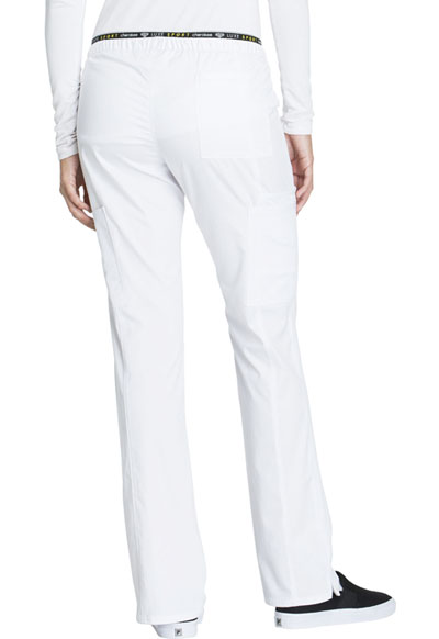 85a20ac227a Photograph of Luxe Sport Women's Mid Rise Straight Leg Pull-on Pant White  CK003T-