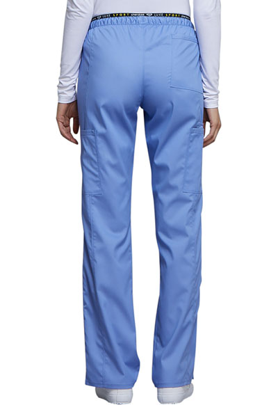 e50ab3523ea Photograph of Luxe Sport Women's Mid Rise Straight Leg Pull-on Pant Blue  CK003-