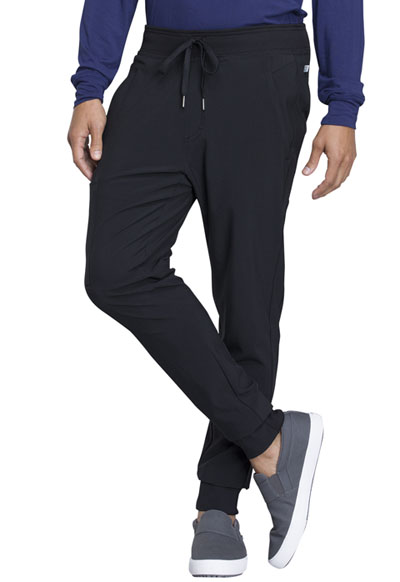 Infinity Men's Men's Natural Rise Jogger Black