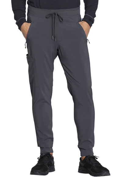 Infinity Men Men's Natural Rise Jogger Gray