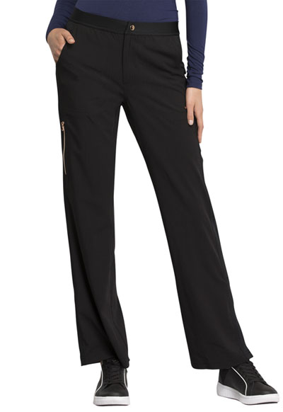Statement Women's Natural Rise Flare Leg Pant Black
