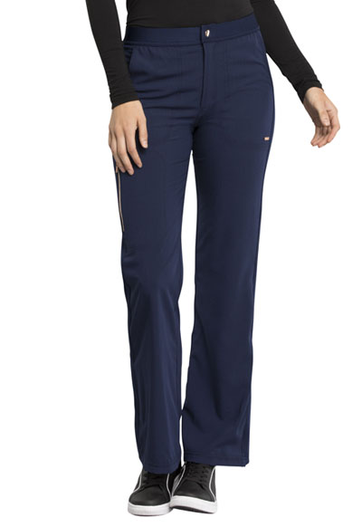 Statement Women Natural Rise Flare Leg Pant Blue