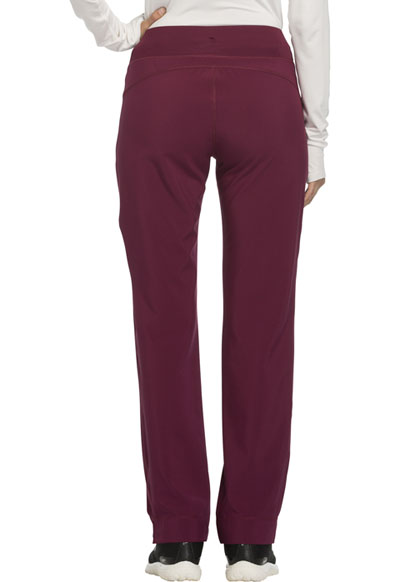 f5747d1256f Photograph of Infinity Women's Mid Rise Tapered Leg Drawstring Pants Red  CK100A-WNPS
