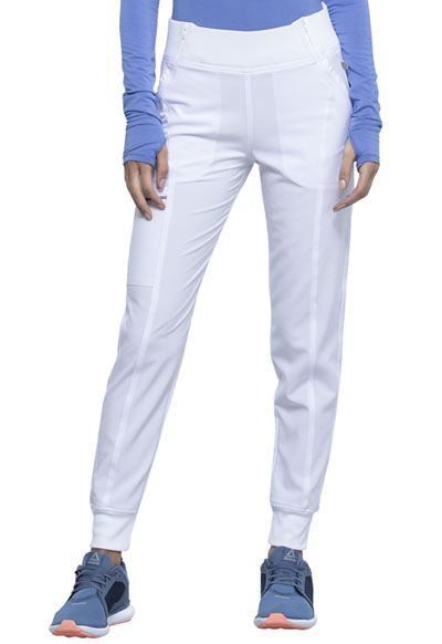 Infinity Women Mid Rise Jogger White