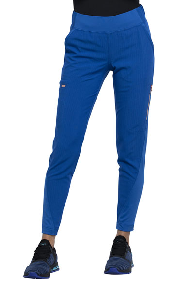 Statement Women Mid-Rise Tapered Leg Pull-on Pant Blue