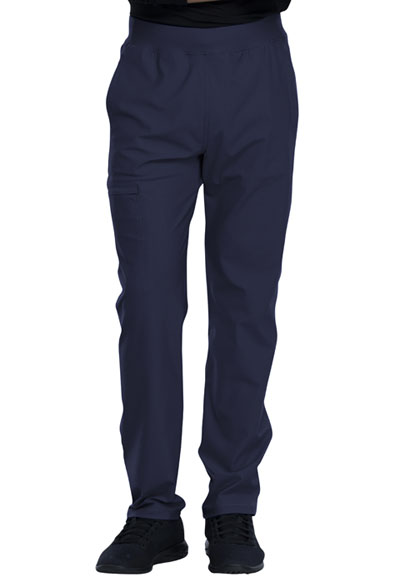 Cherokee Form Men Men's Tapered Leg Pull-on Pant Blue