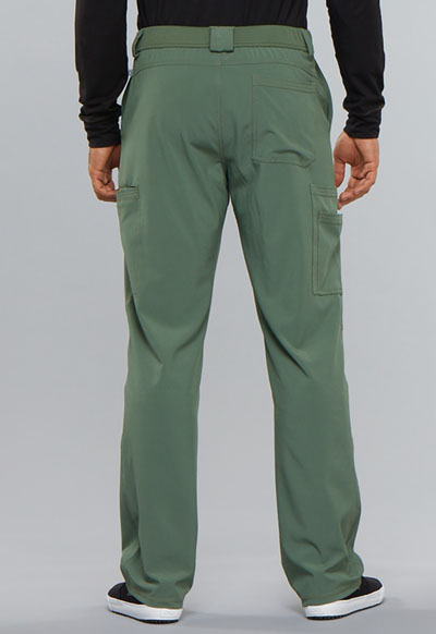 8a85a3325a9 Photograph of Infinity Men's Men's Fly Front Pant Green CK200AS-OLPS