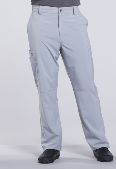 Infinity Men Men's Fly Front Pant Gray