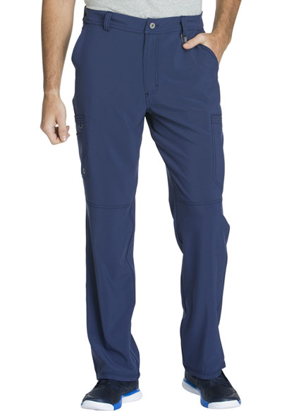 Infinity Men Men's Fly Front Pant Blue