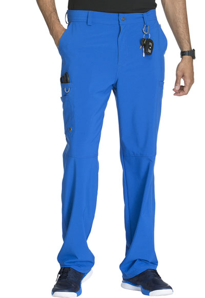 Infinity by Cherokee Men's Men's Fly Front Pant Blue
