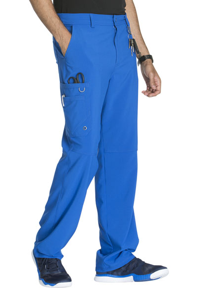 Scrubs Cherokee Men/'s Fly Front Pant CK200A RYPS Royal Free Shipping