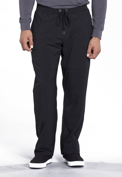 Infinity Men's Men's Tapered Leg Drawstring Pant Black