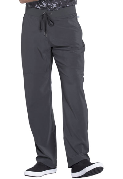 Infinity Men's Men's Tapered Leg Drawstring Pant Gray