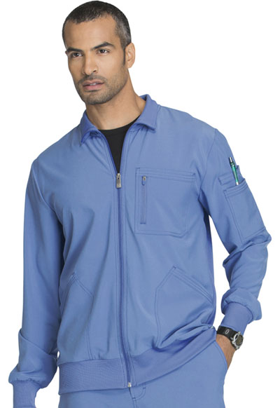 Infinity Men's Men's Zip Front Jacket Blue