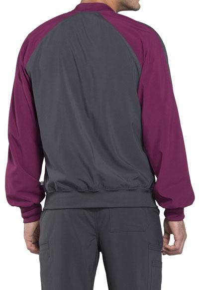 5ede69eedbf Photograph of Infinity Men's Men's Colorblock Zip Up Warm-Up Jacket Gray  CK330A-PWPS