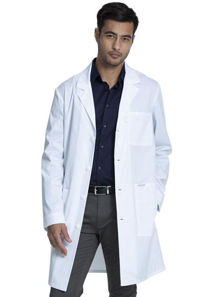 Project Lab by Cherokee Unisex 38 Unisex Lab Coat White