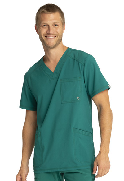 Infinity Men's Men's V-Neck Top Green
