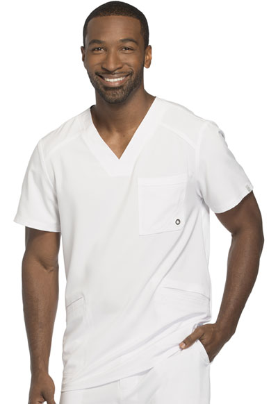 Infinity Men's Men's V-Neck Top White