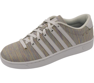 K-Swiss Women's CMFCOURTPROII Rainbow,White