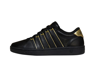 K-Swiss Women's CMFIICOURTPRO Black/Gold