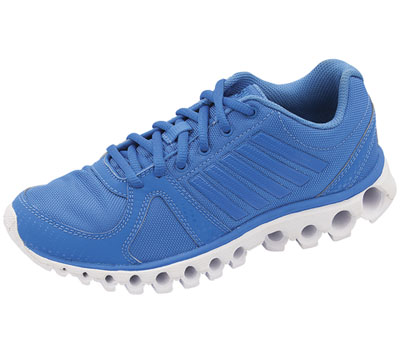 K-Swiss Women's CMFX160TUBES FrenchBlue,White