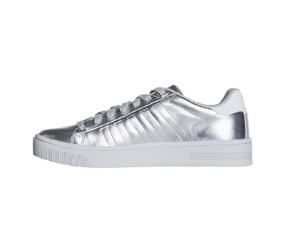 K-Swiss Women's COURTFRASCO Silver,White,BarelyBlue