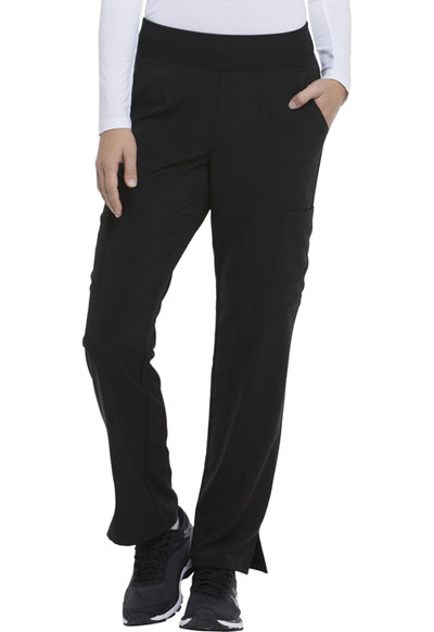 2060ee688ffaa EDS Essentials Natural Rise Tapered Leg Pull-On Pant in Black DK005P ...