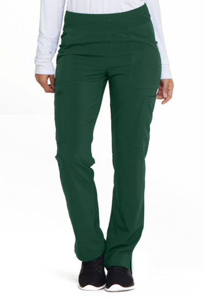 Every Day EDS Essentials Women's Natural Rise Tapered Leg Pull-On Pant Green