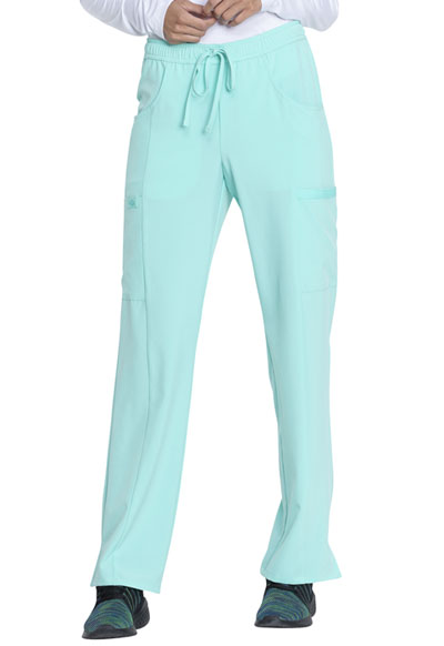 EDS Essentials Women's Mid Rise Straight Leg Drawstring Pant Green
