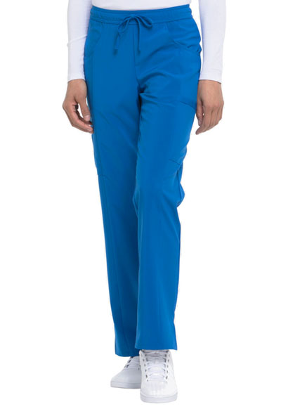 Every Day EDS Essentials Women's Mid Rise Straight Leg Drawstring Pant Blue