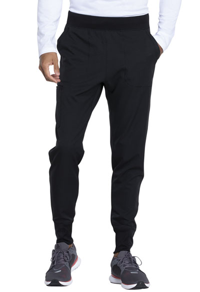 Dynamix Men's Men's Natural Rise Jogger Pant Black