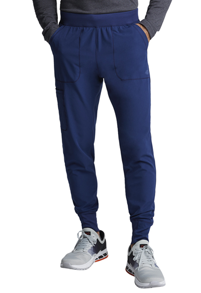 Dynamix Men's Men's Natural Rise Jogger Pant Blue