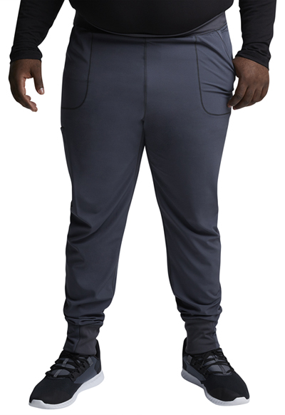 Dynamix Men's Men's Natural Rise Jogger Pant Gray