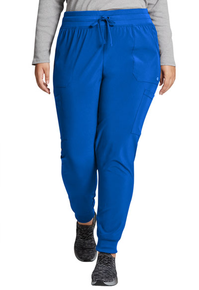 Every Day EDS Essentials Women Mid Rise Jogger Blue