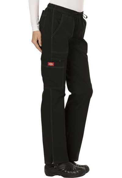 2c02a005ad3 Photograph of Dickies Gen Flex Low Rise Straight Leg Drawstring Pant in  Black