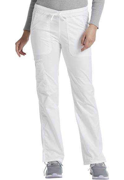 094a6d054cf Gen Flex Low Rise Straight Leg Drawstring Pant in White DK100-DWHZ ...