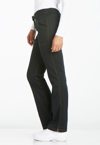 2e94c6de8ae Photograph of Dickies Essence Mid Rise Straight Leg Drawstring Pant in Black