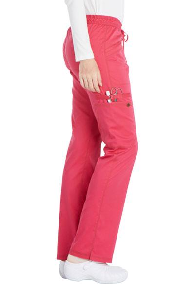 bfdd7a7b2b1 Photograph of Essence Women's Mid Rise Straight Leg Drawstring Pant Pink  DK106-HPKZ