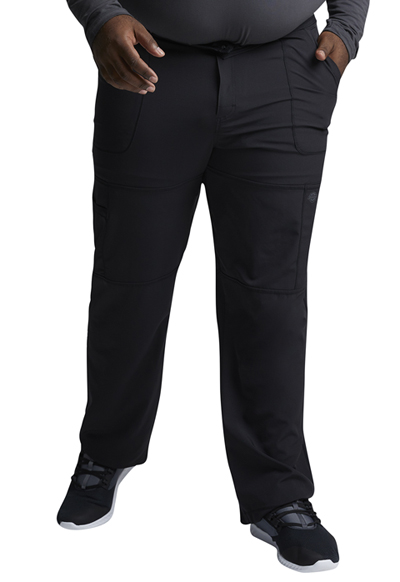 Dynamix Men's Men's Zip Fly Cargo Pant Black