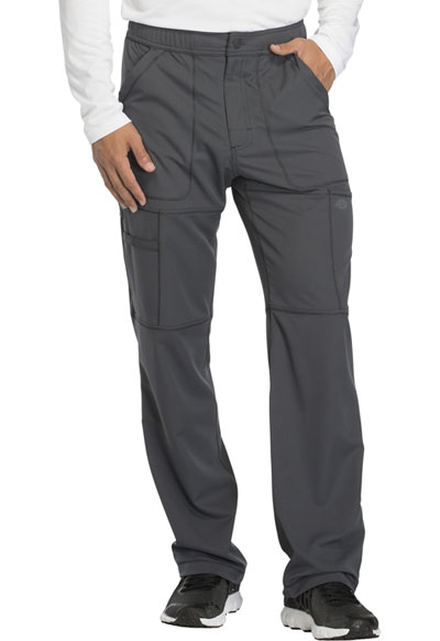 Dynamix Men's Men's Zip Fly Cargo Pant Gray