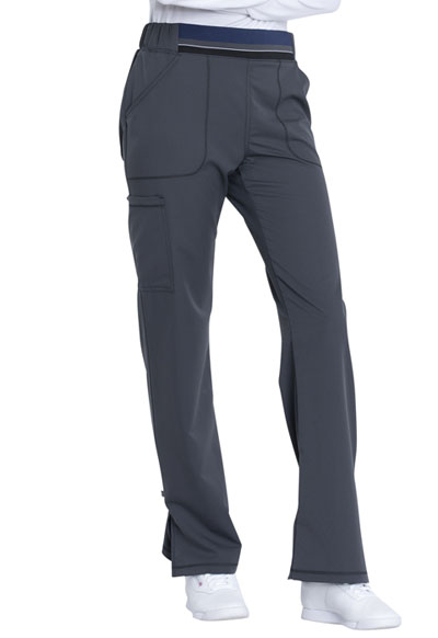 53490f1e5eb Photograph of Dynamix Women's Mid Rise Moderate Flare Leg Pull-on Pant Gray  DK115-