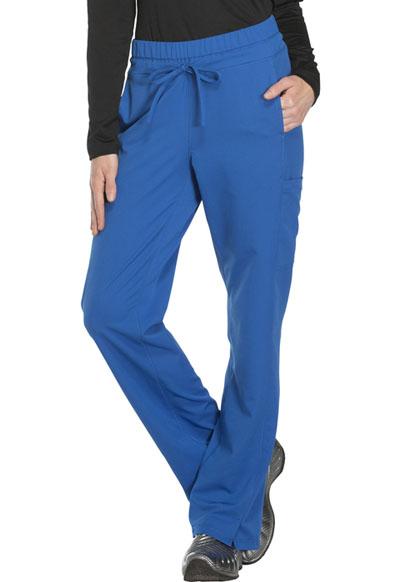5345a605bc3 Photograph of Dynamix Women's Mid Rise Straight Leg Drawstring Pant Blue  DK130P-ROY