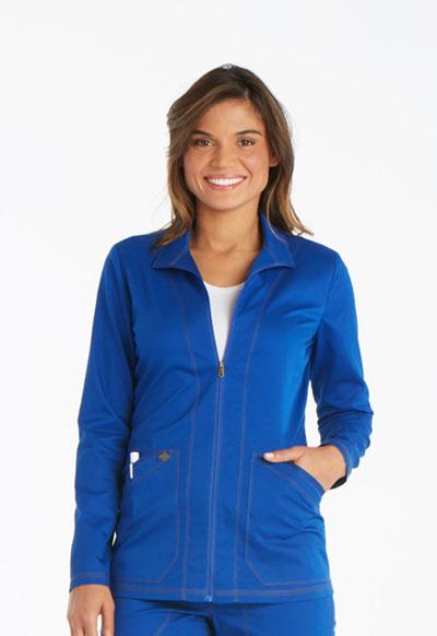 Dickies Essence Women's Warm-up Jacket Blue